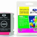 HP88 C9392A Magenta Remanufactured Ink Cartridge by JetTec – H88M