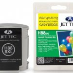 HP88 C9396A Black Remanufactured Ink Cartridge by JetTec – H88BXL