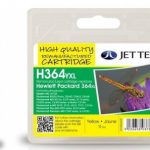 HP364XL CB325EE Yellow Remanufactured Ink Cartridge by JetTec – H364YXL