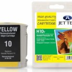 HP10 C4842A Yellow Remanufactured Ink Cartridge by JetTec – H10Y