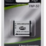 Fuji NP50 (Pentax D-Li68 / Kodak KLIC 7004) Equivalent Digital Camera Battery by Inov8