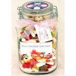 Personalised Large Sweet Jar