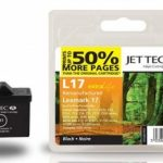 Lexmark 10N0017 Black Remanufactured Ink Cartridge by JetTec – L17