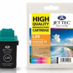 Lexmark 15M0120 Colour Remanufactured Ink Cartridge by JetTec – L20