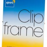 Kenro Glass Fronted Clip Photo Frame 8×10″ / 20x25cm