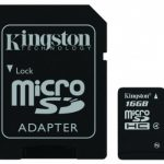 Kingston Micro SDHC Class 4 – 16GB