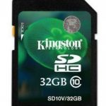 Kingston Secure Digital Card (SDHC) CLASS 10 – 32GB