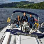 Yacht Sailing Windermere