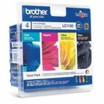 Genuine Brother Multipack LC1100 Ink Cartridge – LC1100VALBP