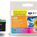 Lexmark 10N0026 Colour Remanufactured Ink Cartridge by JetTec – L26