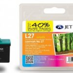 Lexmark 10N0027 Colour Remanufactured Ink Cartridge by JetTec – L27