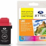 Lexmark 12A1980 Colour Remanufactured Ink Cartridge by JetTec – L80