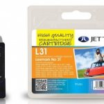 Lexmark 18C0031 Colour Remanufactured Ink Cartridge by JetTec – L31