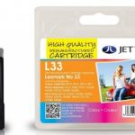 Lexmark 18C0033 Colour Remanufactured Ink Cartridge by JetTec – L33
