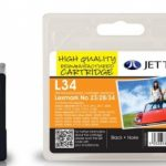 Lexmark 18C0034 Black Remanufactured Ink Cartridge by JetTec – L34