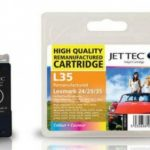 Lexmark 18C0035 Colour Remanufactured Ink Cartridge by JetTec – L35