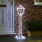 White rope light 3d Lantern 10.5 cm