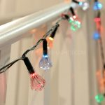 5.8m Traditional Diamond Fairy Lights, 40 Multi Colour Bulbs
