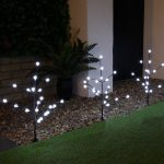 Outdoor LED Berry Branch Lights, Connectable