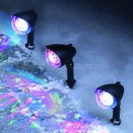 Disco Ball Path Light set of 3