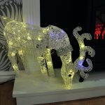 60cm Grazing Reindeer with 50 Warm White LEDs