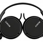Sony ZX110B On-Ear Headphones – Black