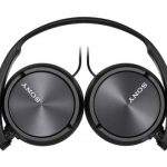 Sony ZX310AP On-Ear Headphones – Metallic Black