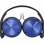 Sony ZX310AP On-Ear Headphones – Metallic Blue