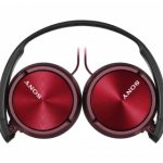 Sony ZX310AP On-Ear Headphones – Metallic Red