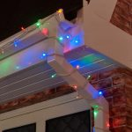 10m Multi Coloured Connectable Diamond Lights, 80 LEDs – White Cable