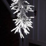 70cm White Snowfall cluster Light – Connectable, 168 LEDs