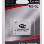 Canon NB-6L Equivalent Digital Camera Battery by Inov8