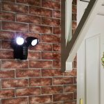Outdoor Battery Security Light with PIR Sensor