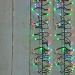 280 Berry Cluster Lights Multi-Colour LEDs