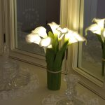 Battery Hand Tied Calla Lily Flower Light, 29cm