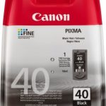 Genuine Black Canon PG-40 Ink Cartridge – 0615B001