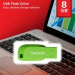 SanDisk Cruzer Blade USB Flash Drive 8GB – Green