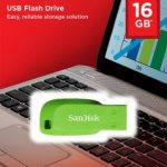 SanDisk Cruzer Blade USB Flash Drive 16GB – Green