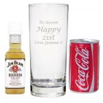 Personalised Whisky and Coke Set