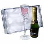 Personalised Love Champagne Set
