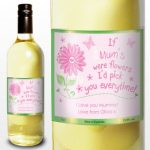 Personalised Mum White Wine