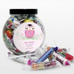Personalised Mrs Teacher Sweet Jar