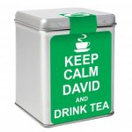 Personalised Keep Calm Tea Tin
