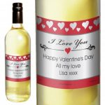 Personalised Love White Wine