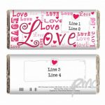 Personalised Loves Chocolate Bar