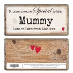 Personalised Special Mum Choc Bar