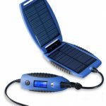 PowerTraveller Powermonkey eXplorer Solar Power Charger Device – Blue