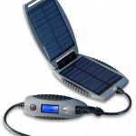 PowerTraveller Powermonkey eXplorer Solar Power Charger Device – Grey