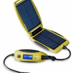 PowerTraveller Powermonkey eXplorer Solar Power Charger Device – Yellow