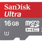 SanDisk Ultra Micro SDHC Card (CLASS 10) for Android – 16GB